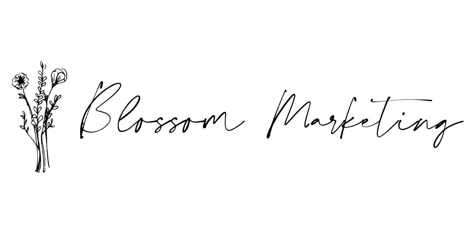 Blossom marketing digital marketing agency logo