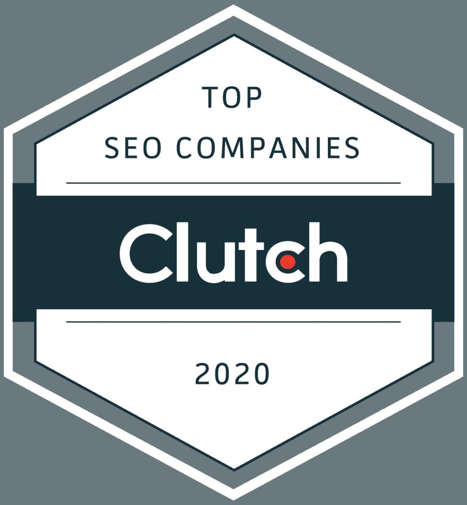 Top SEO Company Clutch Badge